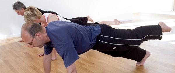 Mænd bør gå til pilates