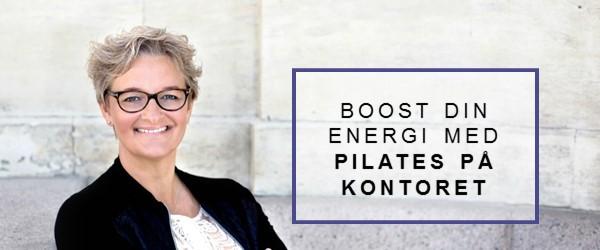 Boost din energi med pilates på kontoret